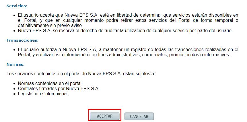 Imagen: Certificado nueva EPS | Afiliaci贸n y Salud