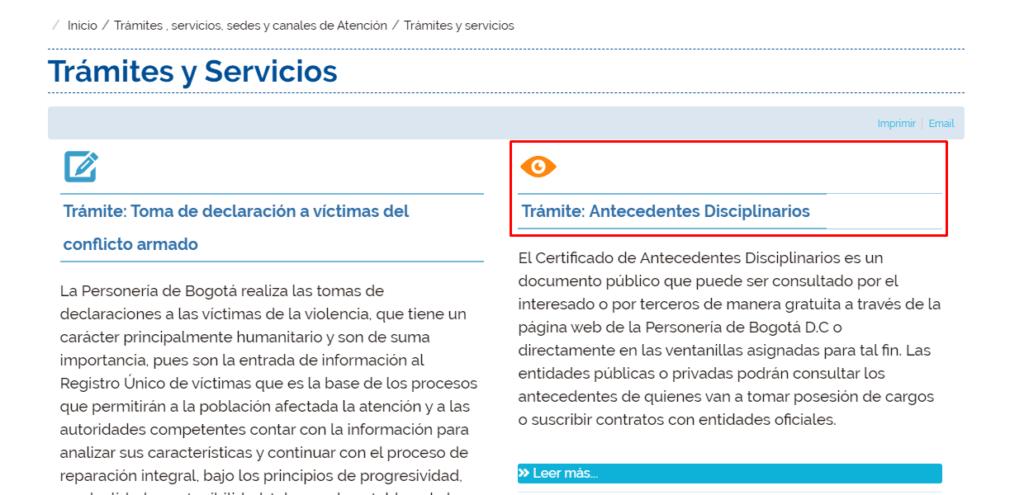Imagen: Personería Certificado