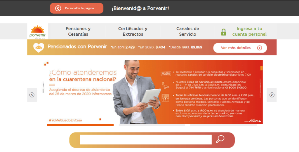 Imagen: ¿Cómo descargar Certificado de Pensión Porvenir?