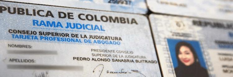 Certificado de Vigencia Tarjeta Profesional Abogado